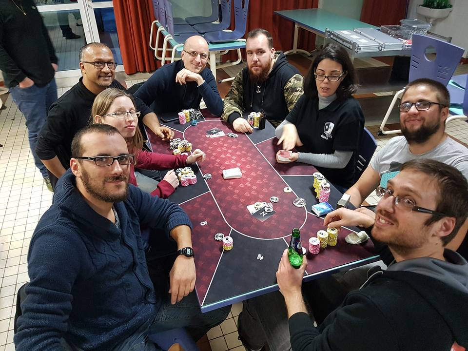 table finale Deuzenun #6, tournoi poker, NH Poker Team