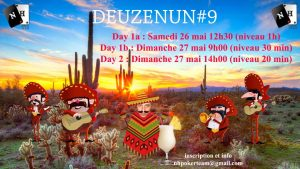Deuzenun #9, tournoi NH, poker, cartes, jetons, NH Poker Team, Saint-Quentin-en-Yvelines