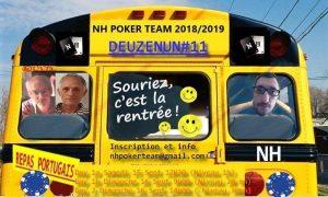 Deuzenun, Deuzenun#11, tournoi poker, NH Poker Team, poker saint-quentin-en-yvelines, poker, tournoi NH