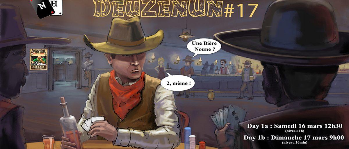 Permalien vers:Inscriptions DeuZenUn#17 (16/17 mars)