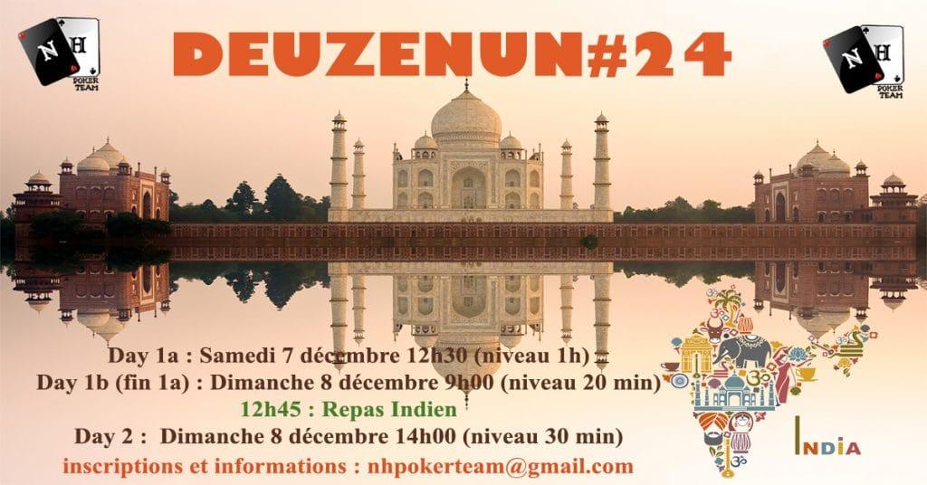 Deuzenun, Deuzenun#24, tournoi poker, NH Poker Team, poker saint-quentin-en-yvelines, poker, tournoi NH